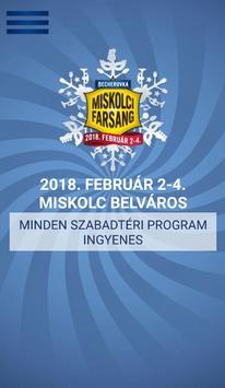 Miskolci Farsang poster