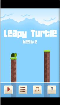 Leapy Turtle poster