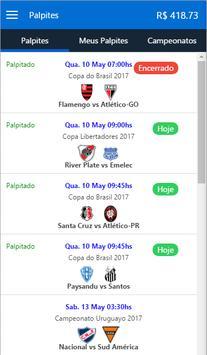 Bolão Craque de Bola apk screenshot
