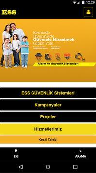 Ess Güvenlik-Sistemleri poster