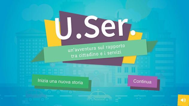 U.Ser. - Il rapporto tra cittadino e servizi poster