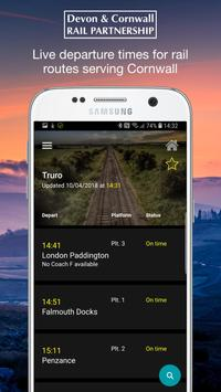 Cornwall Live Train Departure Times screenshot 1