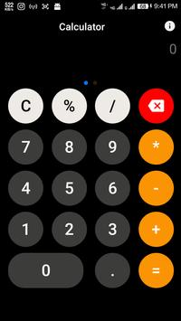 Calculator Ios screenshot 1