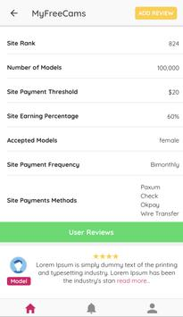 WebCam Site Reviews App screenshot 3
