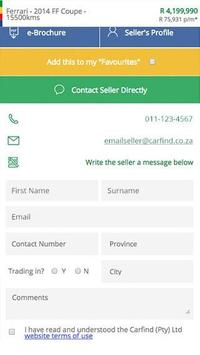 Carfind.co.za - Cars for Sale screenshot 4