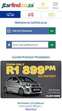 Carfind.co.za - Cars for Sale poster