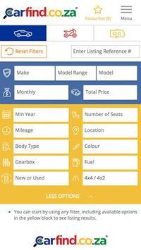 Carfind.co.za - Cars for Sale screenshot 1