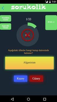 Sorukolik - Knowladge Quiz apk screenshot