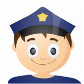 شرطة الأطفال 👮🚨 icon
