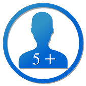 Contacts 5+ (w/ Groups) icon