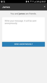NonyApp : Anonymous Messages (Sarahah with Reply) apk screenshot