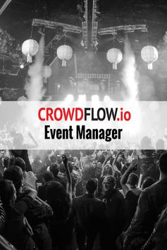 Crowdflow Event Manager poster