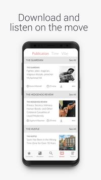 curio - intelligent audio for busy people apk screenshot