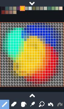 Novix Pixel Editor captura de pantalla 2