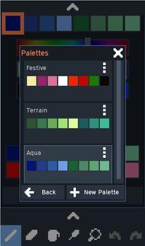 Novix Pixel Editor captura de pantalla 4