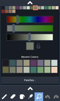 Novix Pixel Editor captura de pantalla 5