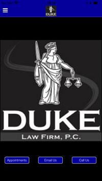 Duke Law Firm poster