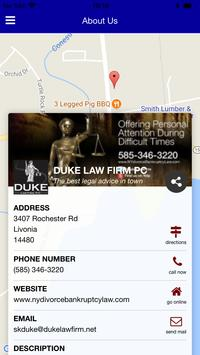 Duke Law Firm apk screenshot