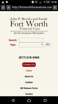 Fort Worth Funeral Care apk screenshot