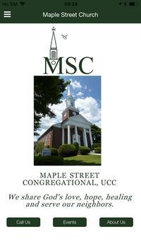 Maple Street Church poster