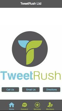 Tweet Rush CRM poster