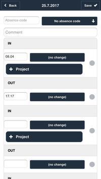 Timeflex App En screenshot 6