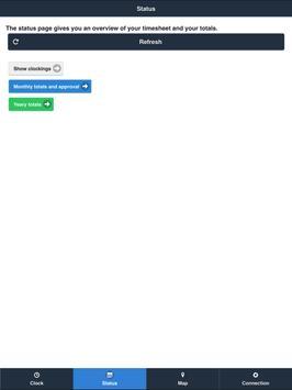 Timeflex App En screenshot 8