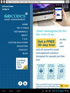 Easy QR Scanner by GoCodes apk screenshot