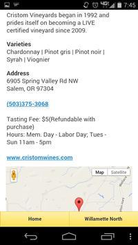 Wine Valet Oregon 2.0 apk screenshot