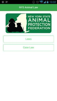 NYS Animal Law poster