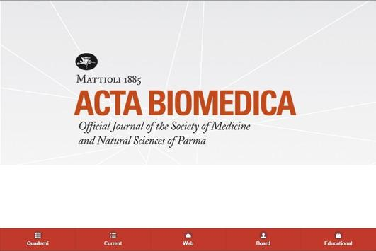 Acta Biomedica 2.0 apk screenshot