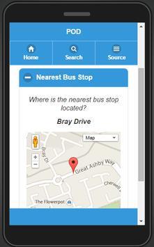 Postcode Open Data apk screenshot