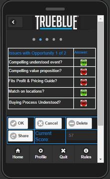 TrueBlue COA apk screenshot