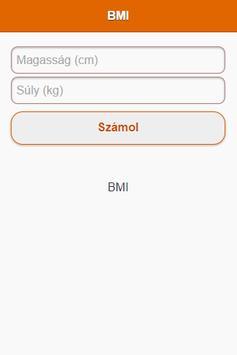 BMI Kalkulátor poster