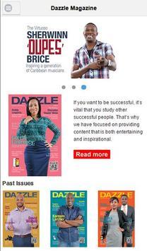 Dazzle Magazine St. Lucia poster