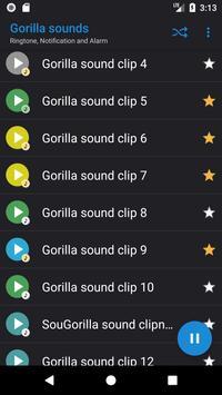 Appp.io - Gorilla sounds screenshot 1