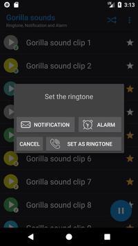 Appp.io - Gorilla sounds screenshot 2