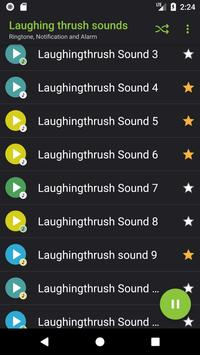 Appp.io - Laughing thrush sounds screenshot 1