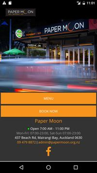 Paper Moon - Cafe and Bar poster
