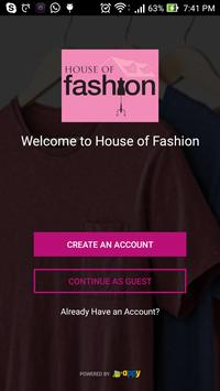 House of Fashion poster