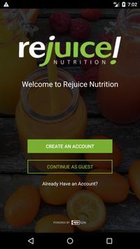 Rejuice Nutrition poster