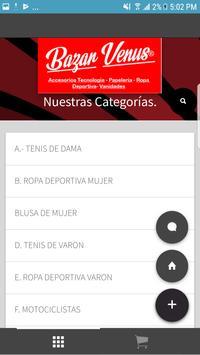Bazar Venus Web Shop Honduras screenshot 1