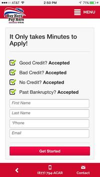 Buy Here Pay Here USA screenshot 2