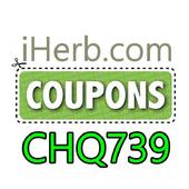 iHerb Coupon code CHQ739 icon