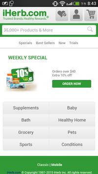 iHerb Coupon code CHQ739 poster