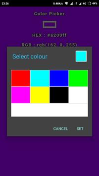 Color picker screenshot 5