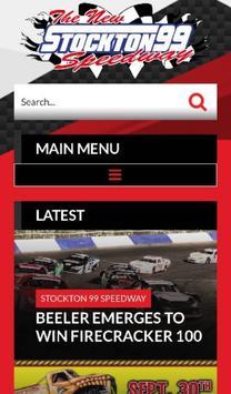 Stockton 99 Speedway poster