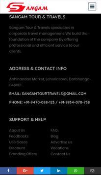 Sangam Tour & Travels screenshot 4