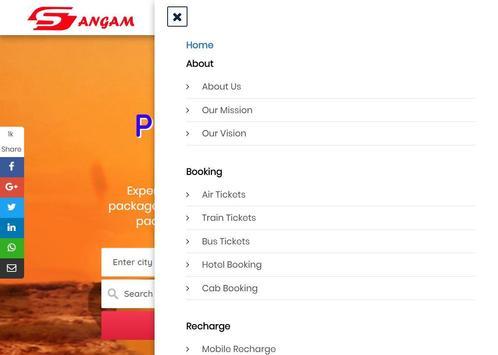 Sangam Tour & Travels screenshot 6