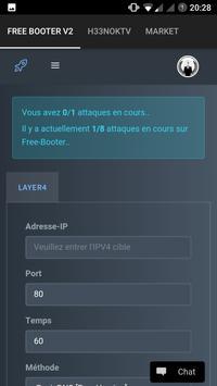 Meteor-Stresser (DDoS) apk screenshot